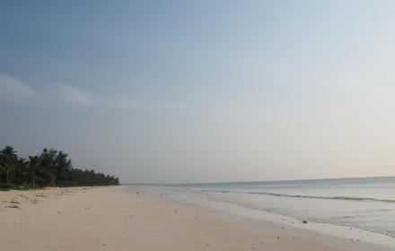 le spiagge di Pwani Mchangani -