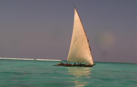 Tramonto Barca a Vela Zanzibar -